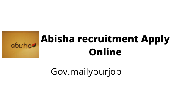 Abisha recruitment apply online