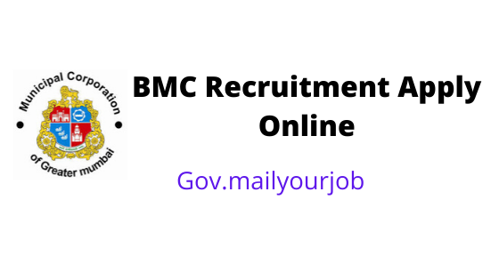 BMC Recruitment apply online