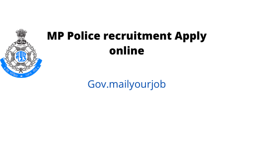 mp police recruitment apply online
