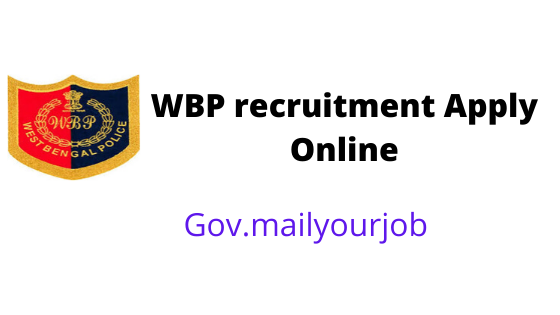 WBP recruitment Apply Online