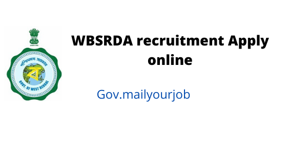 wbsrda recruitment apply online