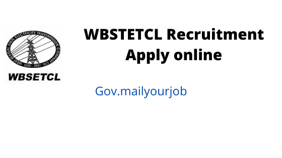 wbstetcl recruitment apply online