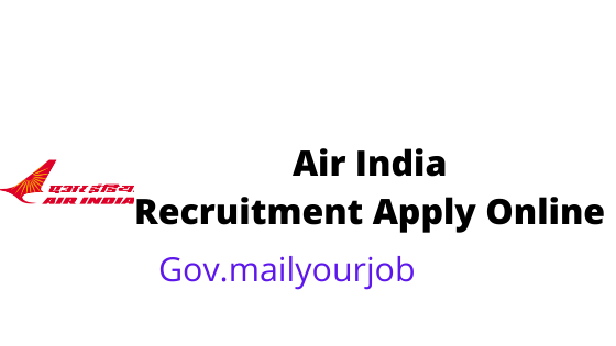 Air India Recruitment apply online