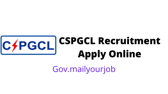 CSPGCL Recruitment Apply Online