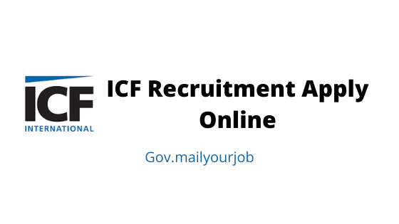 ICF Recruitment apply online
