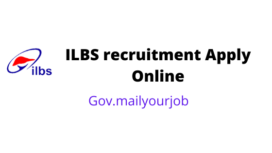 ILBS recruitment apply online