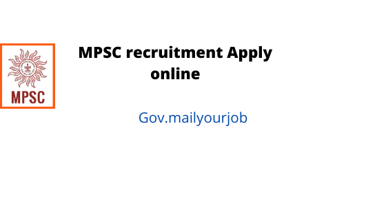 mpsc recruitment apply online
