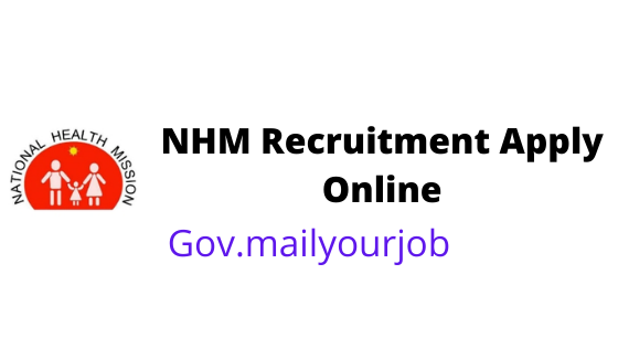 NHM Recruitment apply online