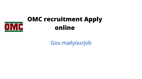 omc Recruitment apply online