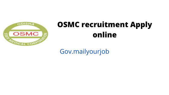 osmc recruitment apply online