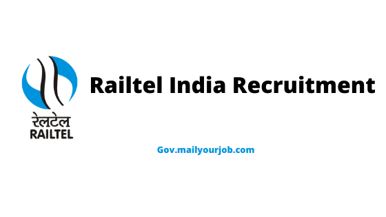 Railtel India Recruitment Apply online