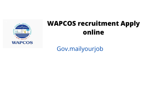 wapcos recruitment apply online